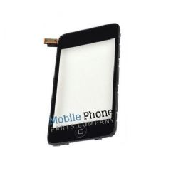 iPod Touch 2 Digitiser With Frame - Black